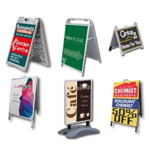 A-Frame & Pavement Signs